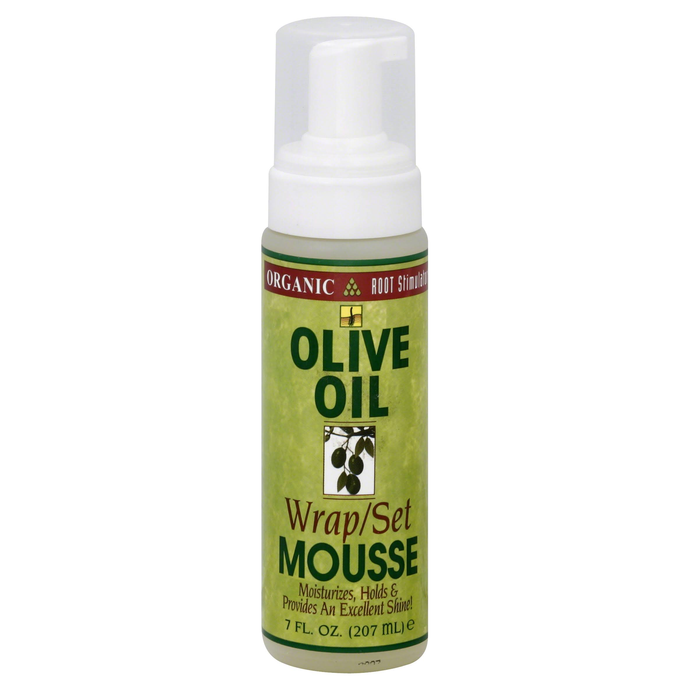 ORS Olive Oil Wrap/Set Mousse - 207ml