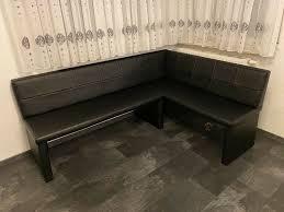 essecke sitzbank esszimmer schwarz 200 140