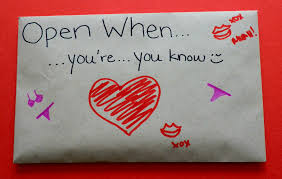 What Do You Put In An Open When Envelope