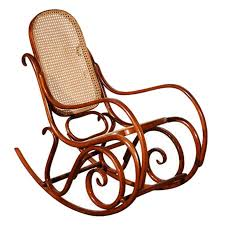 Thonet Bentwood Chair Cane Seat by Thonet Bentwood Rocking Chair At 1stdibs