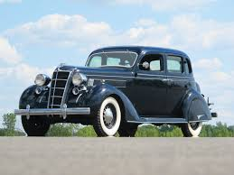 100 Antique Airstream RM Sothebys 1935 Chrysler CZ Eight FourDoor Sedan St