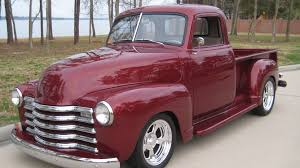100 1951 Chevy Truck Chevrolet 3100 5 Window Pickup F221 Houston 2014