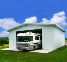 Rv Storage Garage Metal Building