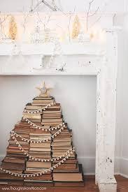 Christmas Tree Books Diy by Build A Christmas Tree Of Books Book Punksbook Punks