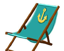 Metal Lawn Chairs Clipart