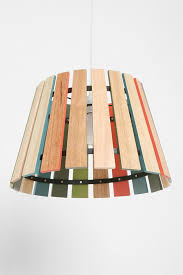 LampsRustic Wood Lamp Wooden Lampshade Awesome Rustic DIY Shade Use Paint