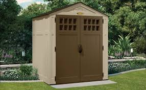Suncast Horizontal Storage Shed Assembly by 195 Cu Ft Sierra 6 X 5 Storage Shed Suncast Corporation