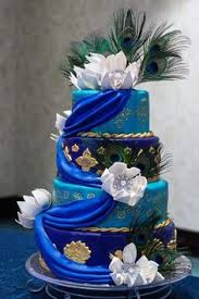 Very cool peacock wedding cake s