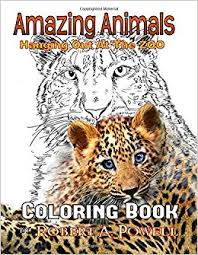 Amazing Animals Coloring Book Amazoncouk Robert A Powell 9781543295795 Books
