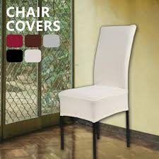 EVERSO Fashion Practical Solid Color Chair Cover Spandex Elastic Sliding  Chair Cover Protection Chair Decorative White Restaurant Kitchen Wedding ... Decorative Chair Coversbuy 6 Free Shipping Alltimegood Ding Room Covers Short Super Fit Stretch Removable Washable Cover Protector Print Office Cube Decor Zone Desk Southwest Wedding Stylists And Faux Linen Sand Summer Promoondecorative 60 Off Today Coversbuy Free Shipping 49 Patio Amazoncom Duck
