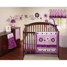 Burlington Crib Bedding by White And Purple Crib Bedding Sets Wow Factor For Purple Crib