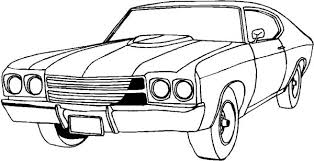 Classic Cars Coloring Pages For Kids