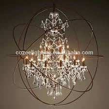 Allen Roth Torchiere Floor Lamp by Chandeliers Industrial Crystal Chandelier Medium Size Of