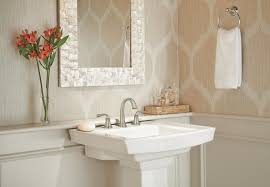 Delta Windemere Roman Tub Faucet by Lorain Bathroom Collection Delta Faucet