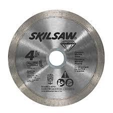 shop skil 4 in or continuous circular saw blade at