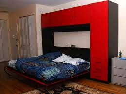 Moddi Murphy Bed by Perky Billy Hides Murphy Bed Then Billy Bookcases Transform Into