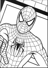 Brilliant Printable Spider Man Coloring Pages With Spiderman Color And Online Games