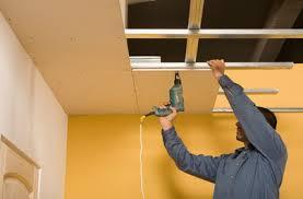faire un faux plafond en bois isolation idées