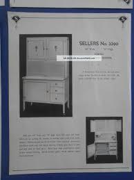 Sellers Hoosier Cabinet Elwood by 1931 Sellers Kitchen Furniture Hoosier Cabinet Elwood Indiana