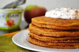 Easy Vegan Pumpkin Pancake Recipe by Pumpkin Pancakes Cook Diary