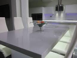 Gray Quartz Dining Table