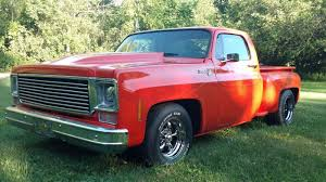 1974 Chevy C10 Pickup Truck Chopped And Lowered Runs Excellent No ...