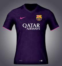 fuite pour le maillot extérieur 2016 2017 du fc barcelone