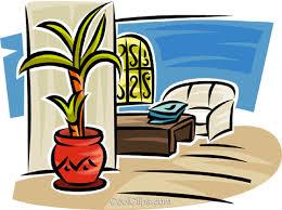 wohnzimmer möbel vektor clipart bild vc063154 coolclips
