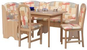 eckbankgruppe marvin mit ausziehbarem tisch 2 stühlen und einer bank