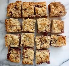 Ina Garten Foolproof Pumpkin Cupcakes by Ina Garten U0027s Famous Raspberry Jam Crumble Bars Bake Cook Eat