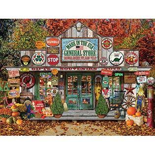 White Mountain Puzzles General Store Jigsaw Puzzle - 1000 Piece
