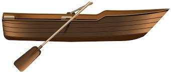 Wooden Boat PNG Clip Art