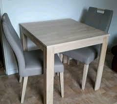 neuwertig esstisch mit 2 stühlen möbel ostermann hoher np