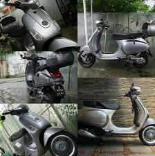 Vespa Lx Modified With 946 Wheel Lxv Seat Bar End Mirror Etc