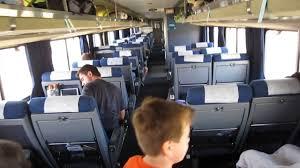 Amtrak Superliner Bedroom by Amtrak Superliner Coach Car Youtube