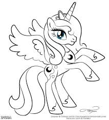 Wpid My Little Pony Coloring Pages Princess Luna