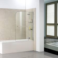 Badewanne Mit Dusche Details Zu 100x140cm Badewannenaufsatz Faltwand Duschabtrennung