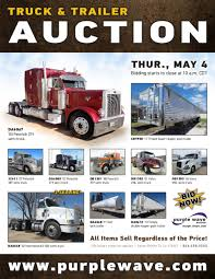 SOLD! May 4 Truck And Trailer Auction | PurpleWave, Inc. East Coast Truck Auto Sales Inc Used Autos In Fontana Ca 92337 Semi Trucks For Sale In Bc Truck Inventory Freightliner Northwest Home Twin City Sales Service Heavy By Owner Duty S Srhusedalesme Tractors Semis For Sale New Trailers Empire Trailer Great Selection Our Calgary Ari Legacy Sleepers Augusta Ga Best Resource 2014 Cascadevo Arrow