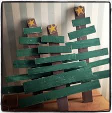 Trees Made Out Of Old Pallets And Scrap Wood