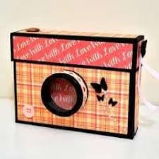 Diy Crafts How To Make A Camera Box Mini Album Giulias Art Tutorial