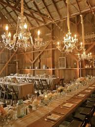 Barn Wedding Reception Decoration Ideas