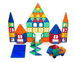 Magna Tiles 100 Piece Target by Playbees 100 Piece Magnetic Building Toy Building Blocks Only