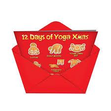 Christmas Yoga Card