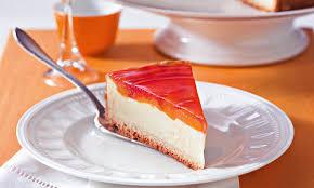 mandarinen käsekuchen mit pudding