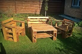 Coffee Tables Upcycled Pallet Outdoor Set With Table Small Patio Furniture Diy And Crafts Garden