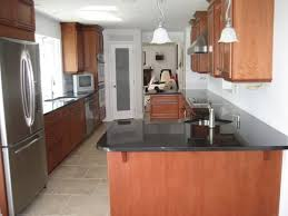 Very Narrow Galley Kitchen