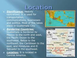 100 Where Is Guatemala City Located PPT PowerPoint Presentation Free Download ID