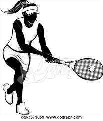 girl tennis clipart Google Search Tennis Pinterest