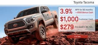 Toyota Dealership Serving The Sacramento Area | Roseville Toyota CA 2018 Toyota Tacoma Pickup Truck Lease Offers Car Clo Vehicle Specials Faiths Santa Mgarita New For Sale Near Hattiesburg Ms Laurel Deals Toyota Ta A Trd Sport Double Cab 5 Bed V6 42 At Of Leasebusters Canadas 1 Takeover Pioneers 2014 Hilux Business Lease Large Uk Stock Available Haltermans Dealership In East Stroudsburg Pa 18301 Photos And Specs Photo