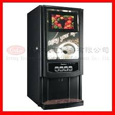 Coin Operated Coffee Vending Machine Automatic Hot Drink